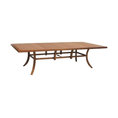 """Castelle - 108"""" Transitional Rectangular Dining Table"""