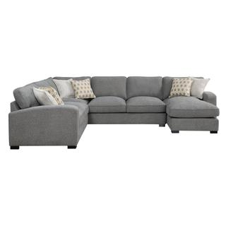 See Details - Repose II Sectional Silver