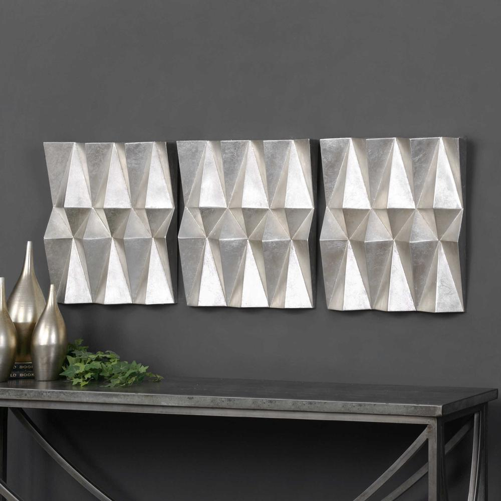 See Details - Maxton Metal Wall Decor, S/3