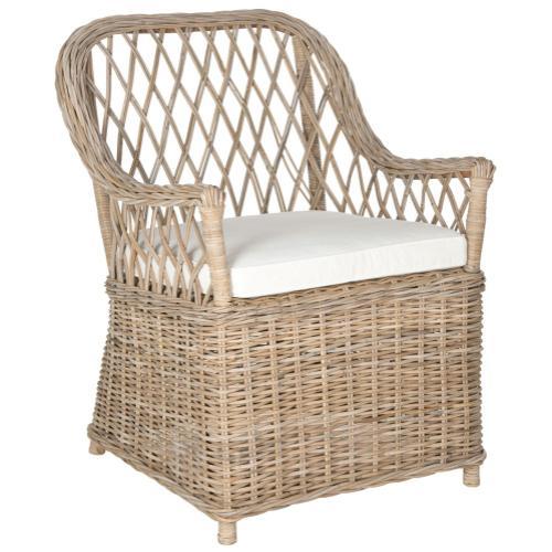 Maluku Rattan Arm Chair - Natural