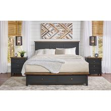 View Product - CAL KING STORAGE BED