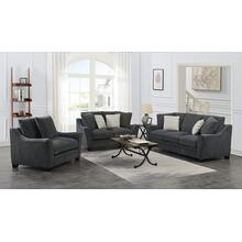 Ryland Sofa, Loveseat, 1.5 Chair Gray, U3872