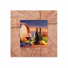 See Details - Vineyard With Background Miniature Fine Wall Art