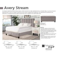 AVERY - STREAM California King Footboard and Rails 6/0 (Grey)