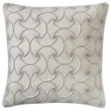 See Details - Retired Deja Vu Pillow, PLATINUM, 22X22
