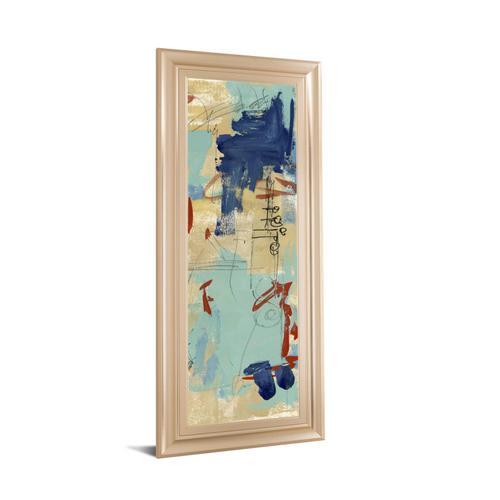 "Classy Art - ""Composition 4A"" By Melissa Wang Framed Print Wall Art"