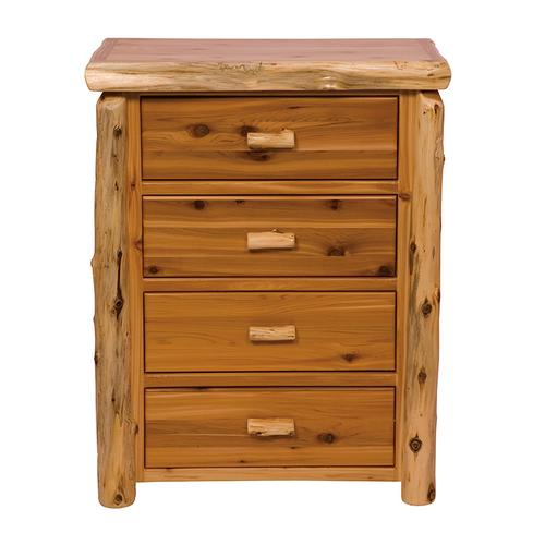 Four Drawer Chest - Natural Cedar - Value