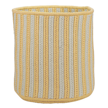 "Baja Stripe Basket BJ33 Yellow 12"" X 10"""