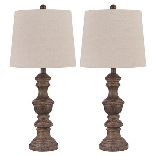 Signature Design By Ashley - Magaly Table Lamp (set of 2)