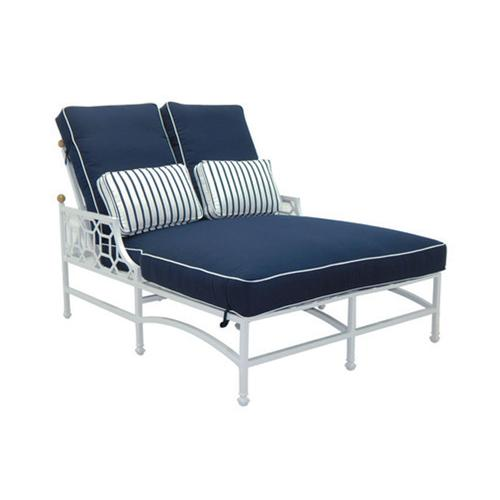 Castelle - Barclay Butera Cushioned Double Chaise Lounge