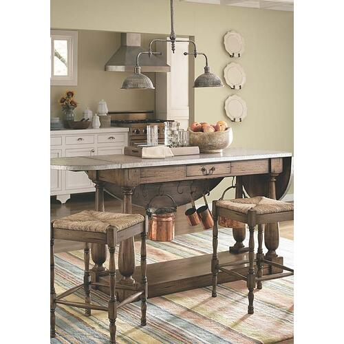 Bailey Breakfast Island w/ 2 Stools