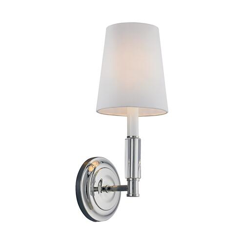 Lismore 1 - Light Sconce Polished Nickel