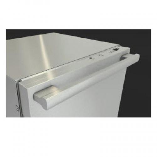 GFVi615/77-1D ContourLine Handle with Clean Touch Steel Door Panel