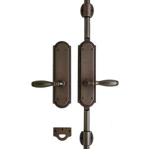 """Ellis Cremone Bolt Set - 3"""" x 11"""" Silicon Bronze Brushed Product Image"""