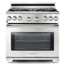 "36"" Full-Natural Gas Freestanding Range"
