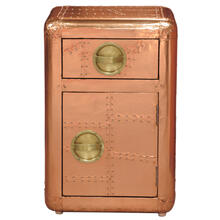 Aviation Door Chest Bronze
