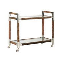See Details - Rustic Glam Bar Cart - Large