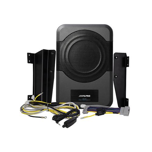 "8"" Compact Powered Subwoofer System for 2011-Up 4-door Jeep Wrangler JKU"