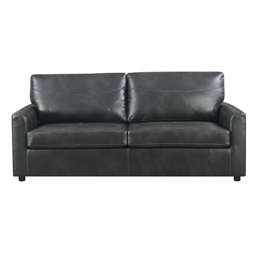 Slumber Queen Sleeper Sofa, Charcoal Gray U3215-50-23