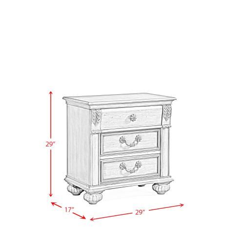 Barkley Square Nightstand