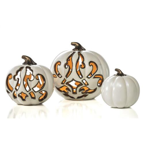 Small White Swanky Pumpkin