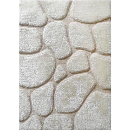 "Rock Shag Area Rug by Rug Factory Plus - 7'6"" x 10'3"" / Earth"