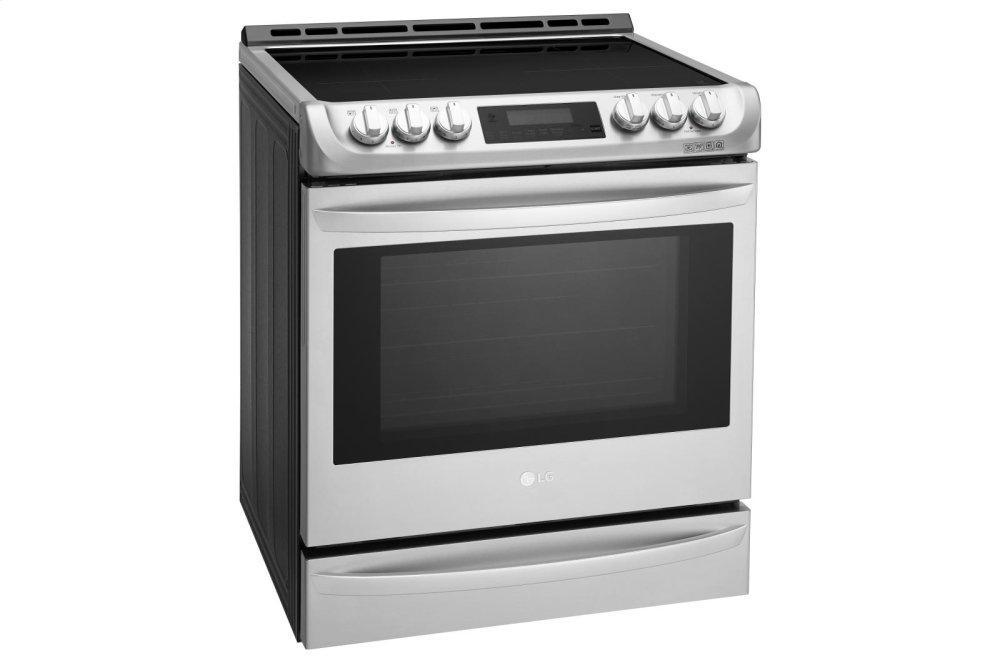 6.3 cu. ft. Smart wi-fi Enabled Induction Slide-in Range with ProBake Convection® and EasyClean® Photo #2
