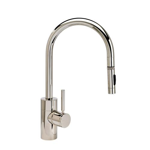 Contemporary PLP Pulldown Faucet - Angled Spout - 5410 - Waterstone Luxury Kitchen Faucets