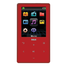 16GB MP3 and video player with 2-inch display