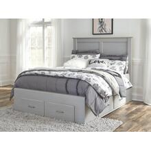 Arcella Full Storage Bed Gray