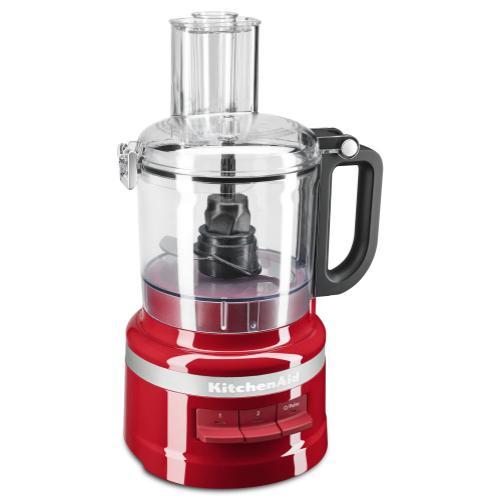 KitchenAid - 7 Cup Food Processor Plus - Empire Red