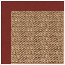 "View Product - Islamorada-Herringbone Dupione Henna - Rectangle - 24"" x 36"""
