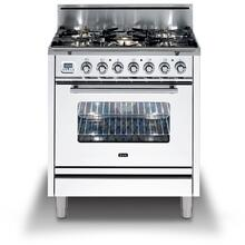 30 Inch True White Natural Gas Freestanding Range