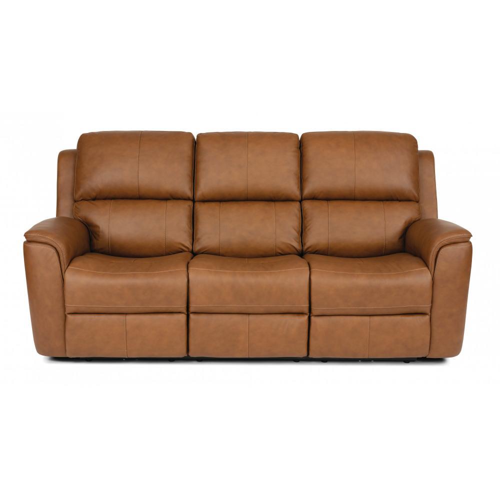 Henry Power Reclining Sofa with Power Headrest and Power Lumbar