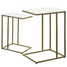 CARTER TABLE SET  Large 18in w. X 26in ht. X 14in d.  Small 16in w. X 22in ht. X 12in d.  Set of