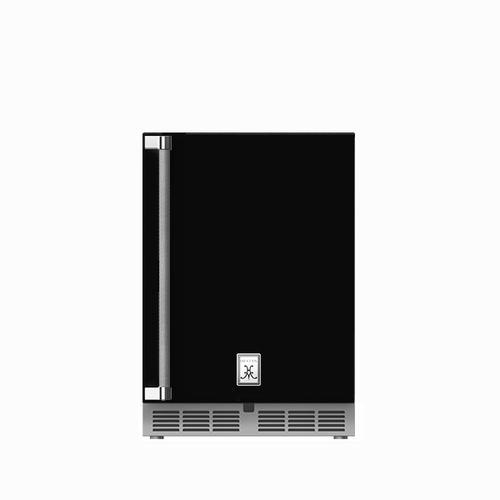 "Hestan - 24"" Hestan Undercounter Dual Zone Refrigerator with Wine Storage (Solid Door) - GRWS Series - Stealth"