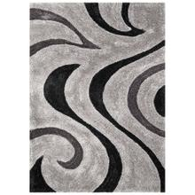 See Details - 3D-806 SHADOW Curl Wave Shaggy Rug