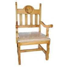 Padded Star Arm Chair
