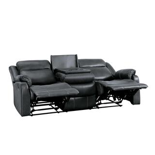 Yerba Lay Flat Reclining Loveseat w/ Center Console