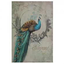 Peacock Poise I