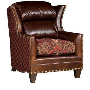 Santorini Chair, Santorini Leather Fabric Chair