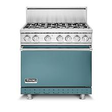 "36""W. Gas Sealed Burner Range, Propane Gas, Solid"