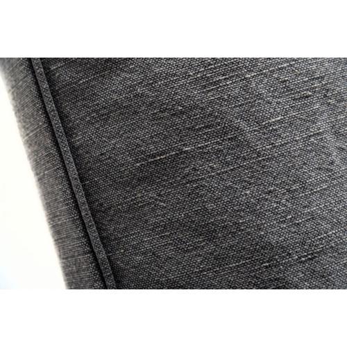 Divani Casa Hearn - Contemporary Dark Grey Fabric Modular Sectional Sofa