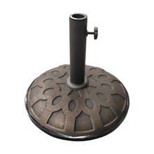 25-Pound Resin Compound Umbrella Base - Bronze