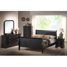6 Piece Bedroom - 3 PC Bed, Dresser, Mirror, Chest