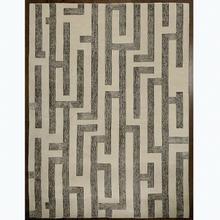 Labyrinth Rug-Grey-6 x 9