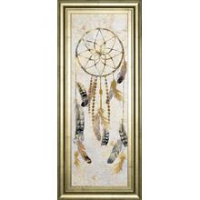 """Tribal Dreamcatcher"" By Nan American Indian Mirrored Framed Print Wall Art"