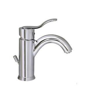Galleryhaus single-hole, single-lever lavatory faucet with pop-up waste. Product Image