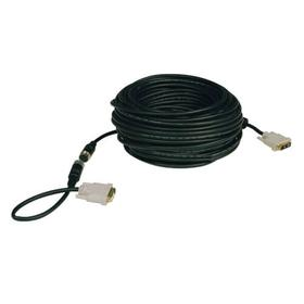 DVI Single Link Easy Pull Digital TMDS Monitor Cable (DVI-D M/M), 100 ft.
