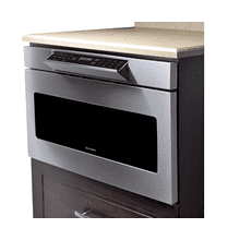 """See Details - 24"""" Microwave Drawer; Hidden Control Panel; Automatic Drawer Opening System"""